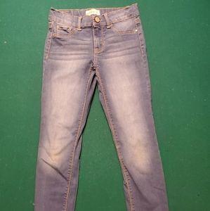 JORDACHE girls super skinny jeans